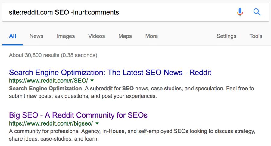 subreddits-search