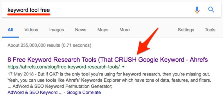 keyword-tool-free