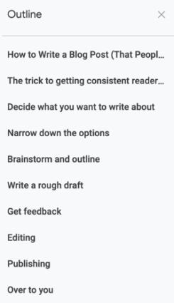 google-docs-outline